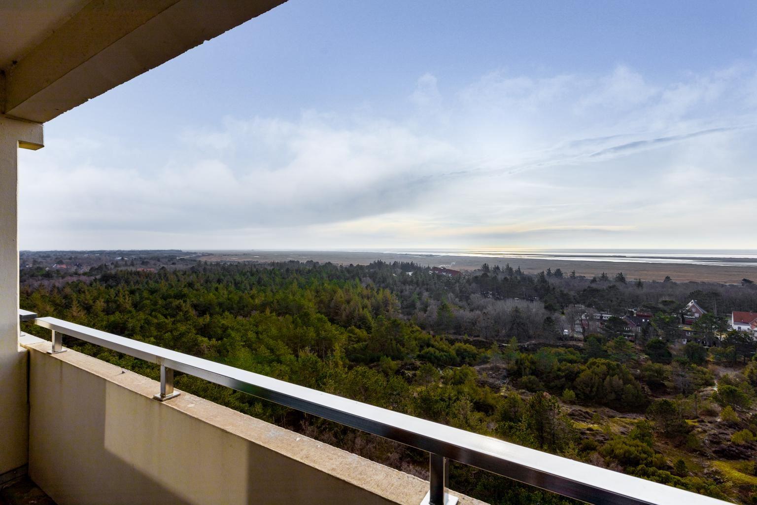 Ausblick vom Südwest-Balkon