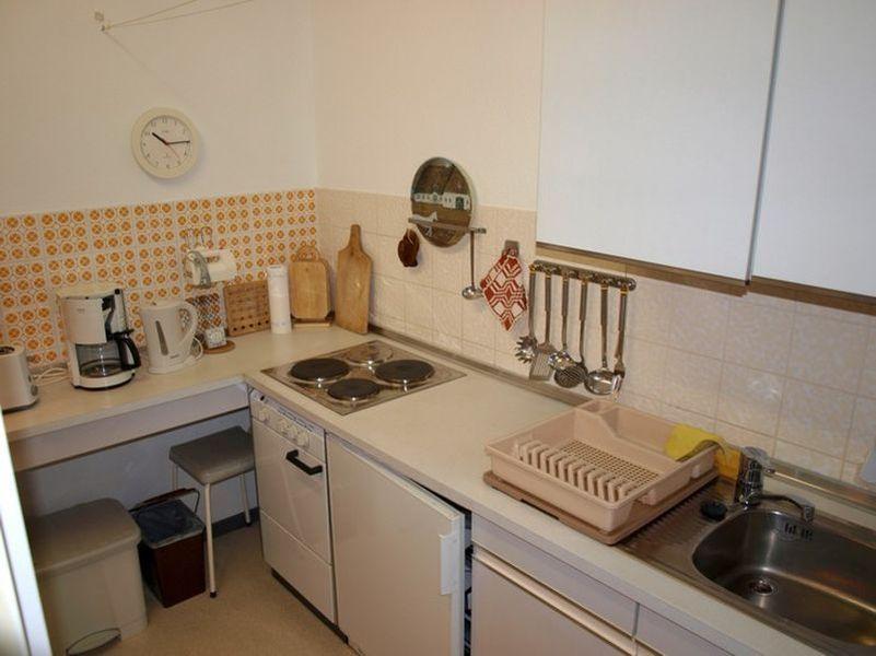 Küche, Ferienwohnung Nr. 114, St Peter Ording Bad, Haus Atlantic,  Alter Badweg 11-15