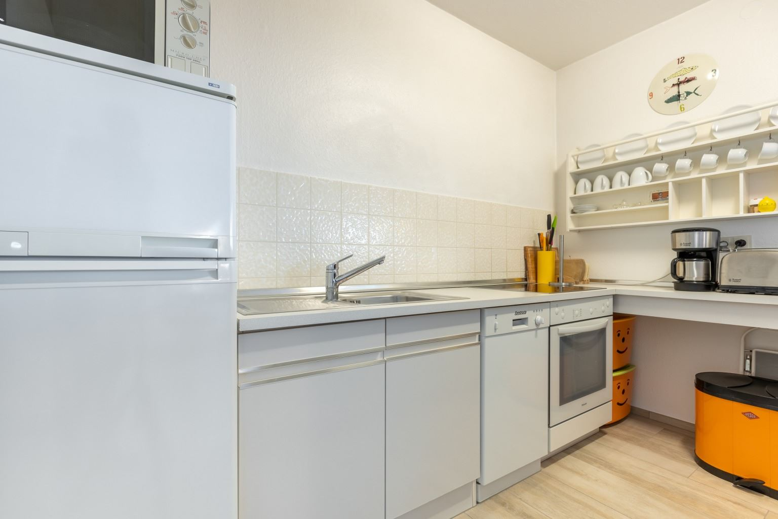 "Küche - St Peter Ording Bad, Haus Atlantic, Wohnung 96 ""Pidder"""