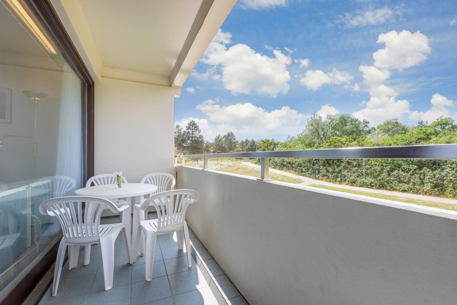 Balkon, Ferienwohnung 5, St Peter Ording Bad, Haus Atlantic,  Alter Badweg 11-15