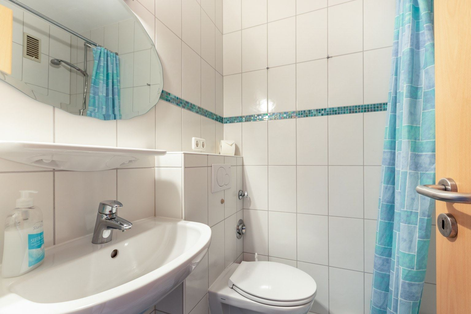 Badezimmer, Ferienwohnung 5, St Peter Ording Bad, Haus Atlantic,  Alter Badweg 11-15