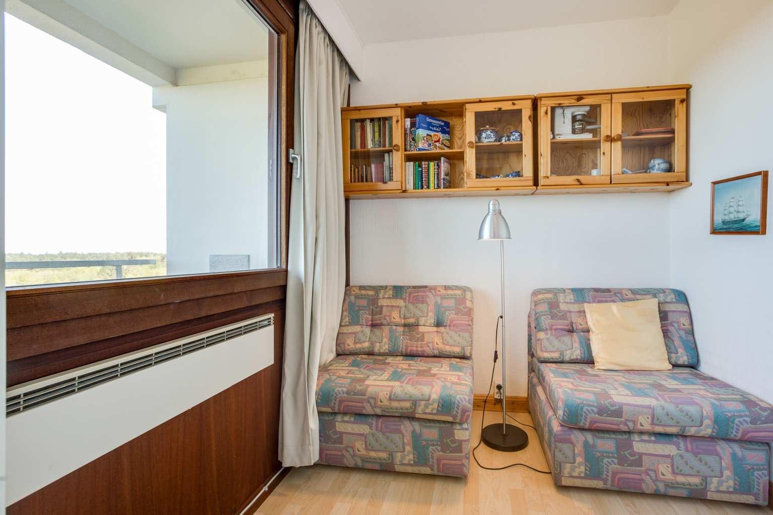 Kinderschlafzimmer, Ferienwohnung Nr. 80, St Peter Ording Bad, Haus Atlantic,  Alter Badweg 11-15