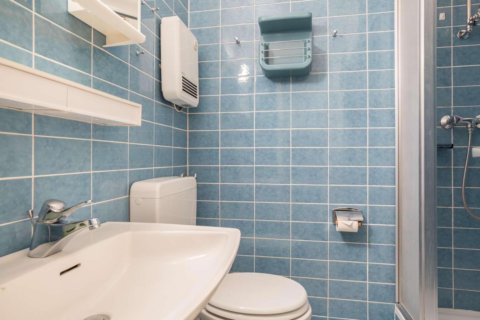 Badezimmer, Ferienwohnung Nr. 80, St Peter Ording Bad, Haus Atlantic,  Alter Badweg 11-15
