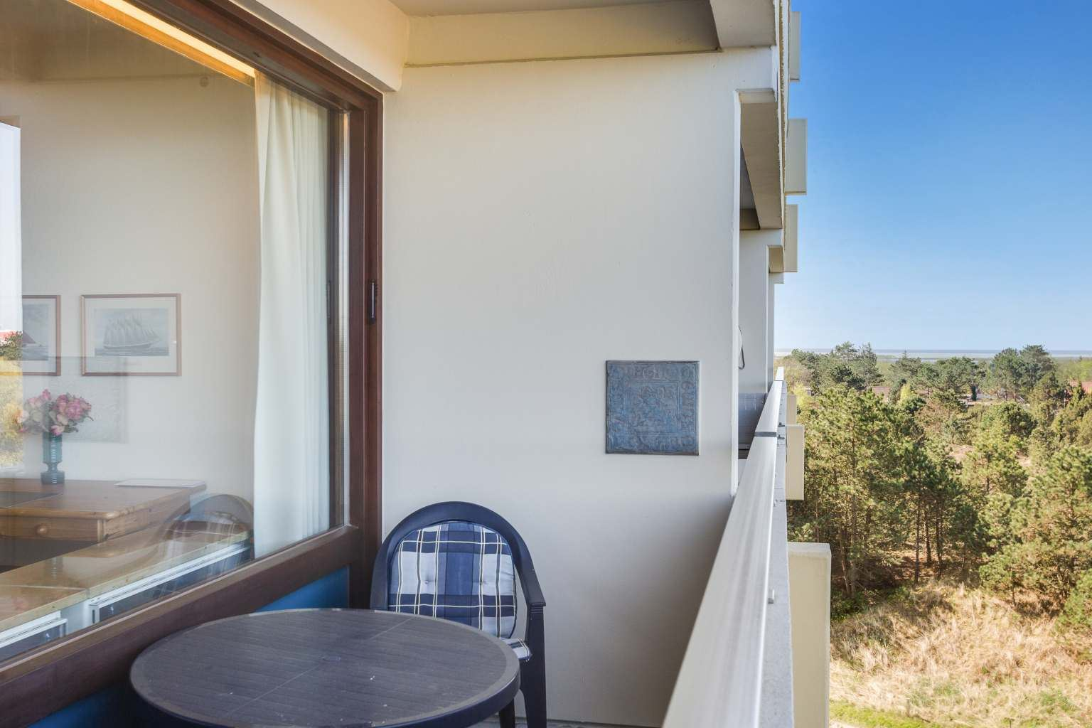 Balkon, Ferienwohnung Nr. 80, St Peter Ording Bad, Haus Atlantic,  Alter Badweg 11-15