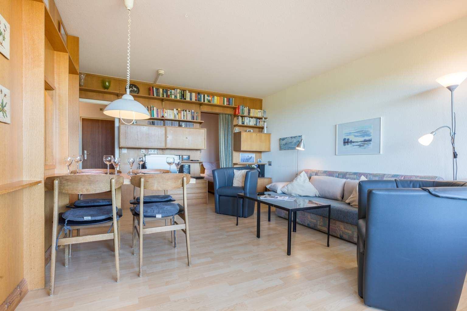 Wohnzimmer, Ferienwohnung Nr. 80, St Peter Ording Bad, Haus Atlantic,  Alter Badweg 11-15