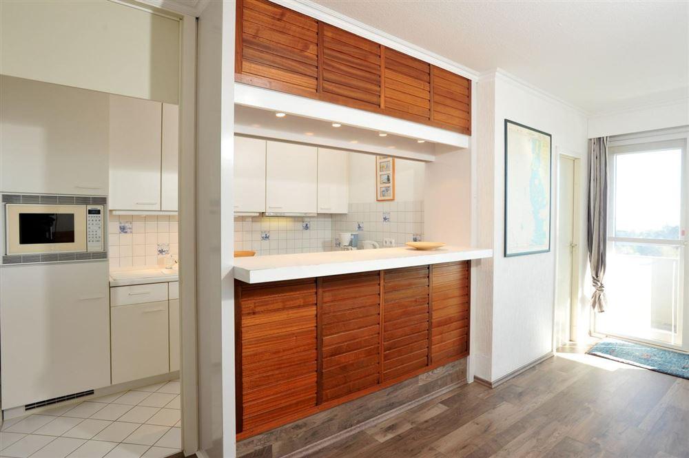 Küche, Ferienwohnung Nr. 130, St Peter Ording Bad, Haus Atlantic,  Alter Badweg 11-15