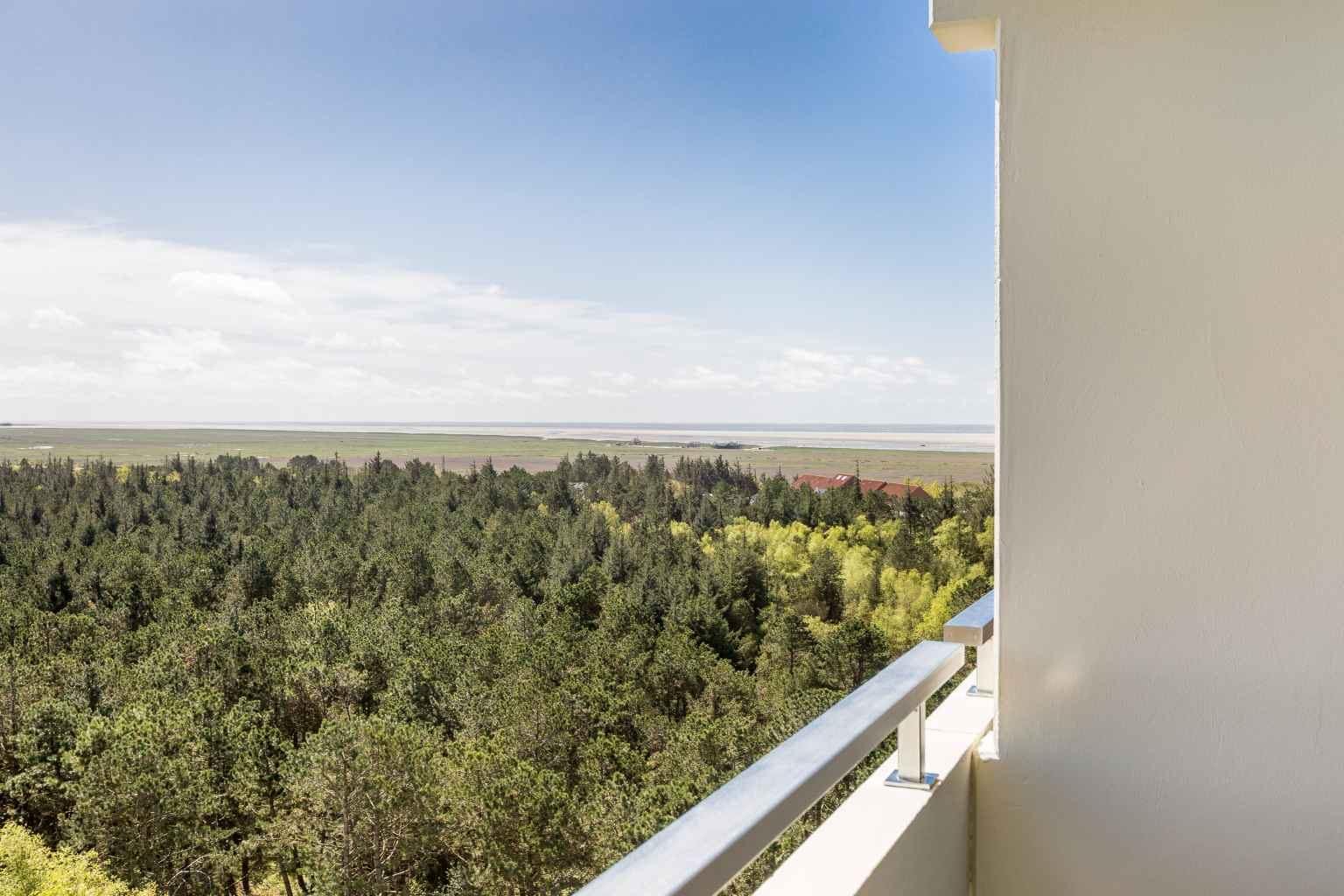 "Balkon mit Meerblick, Ferienwohnung ""178"", St Peter Ording Bad, Haus Atlantic,  Alter Badweg 11-15"