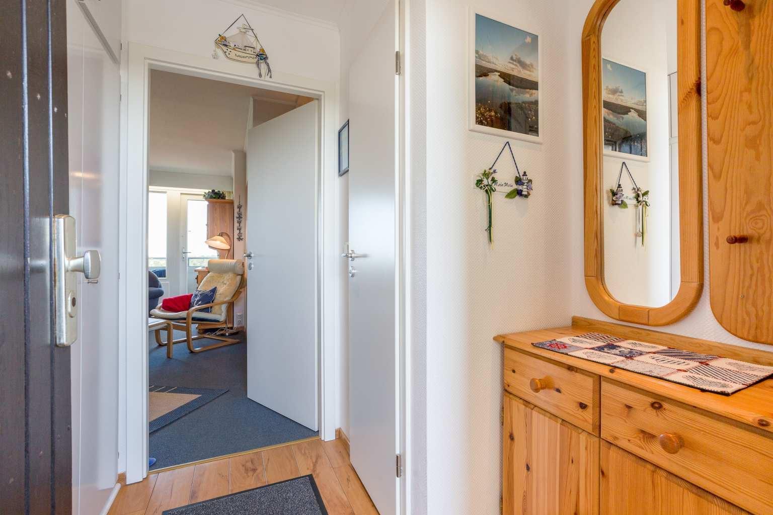 """Parkwohnanlage Haus Atlantic, St. Peter-Ording (SPO) - Wohnung 108 """"Meerblick"""" (ID 100) - Flur"""