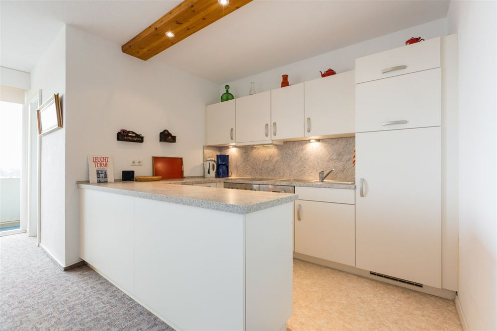"""Küche, Ferienwohnung """"92"""", St Peter Ording Bad, Haus Atlantic,  Alter Badweg 11-15"""