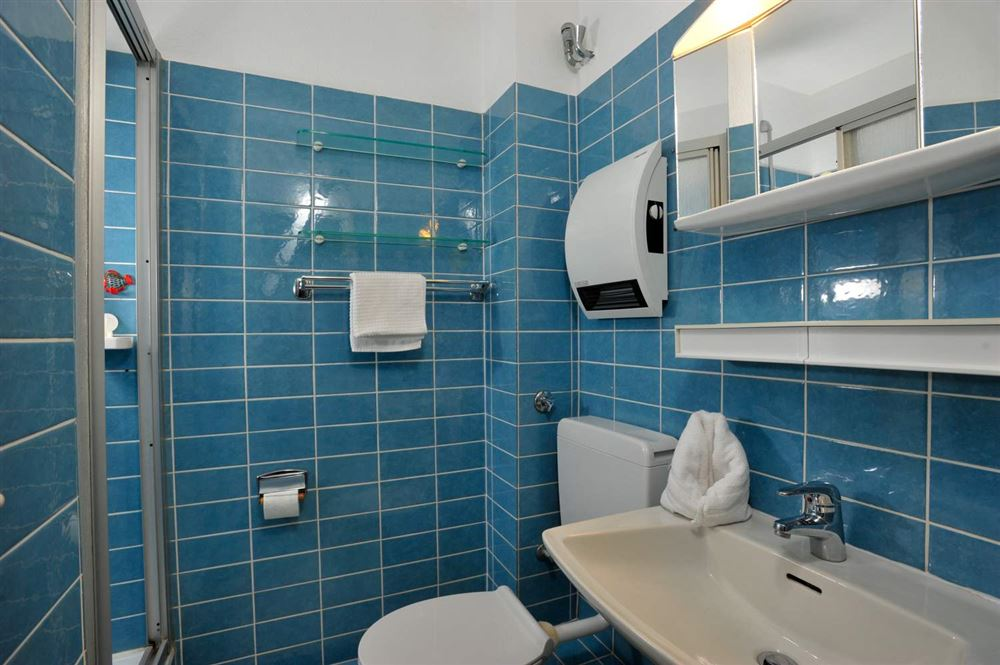 Badezimmer - Haus Atlantic, Wohnung 260, Alter Badweg 11-15, St. Peter-Bad