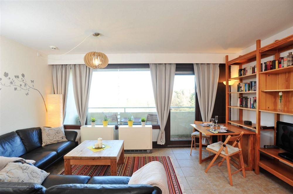 Wohnzimmer - Haus Atlantic, Wohnung 260, Alter Badweg 11-15, St. Peter-Bad