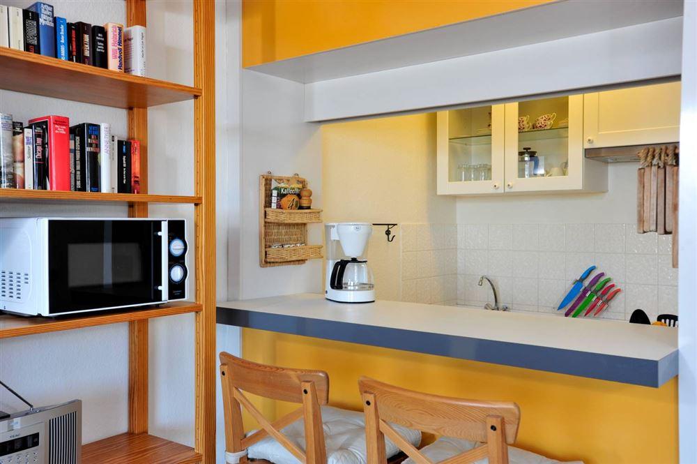 Küchentresen - Haus Atlantic, Wohnung 260, Alter Badweg 11-15, St. Peter-Bad