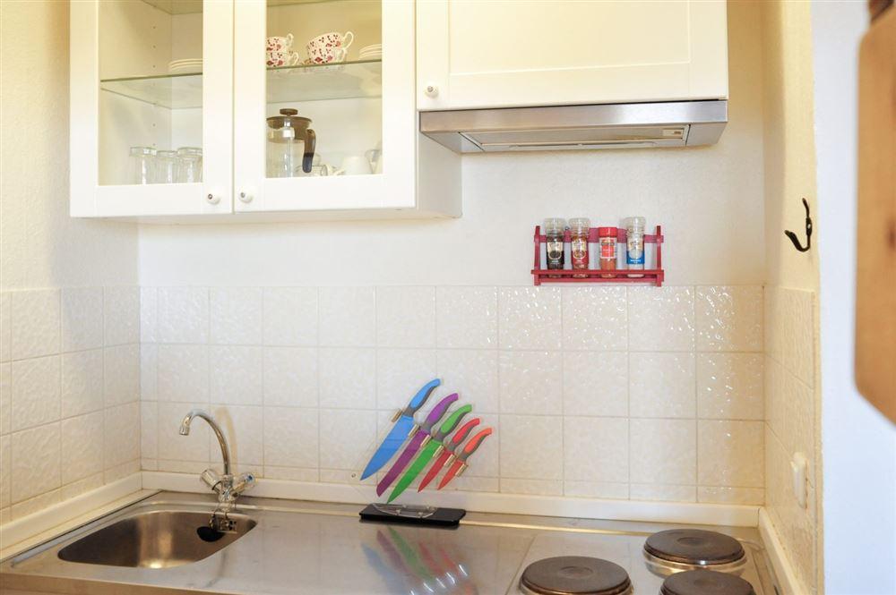 Küche - Haus Atlantic, Wohnung 260, Alter Badweg 11-15, St. Peter-Bad