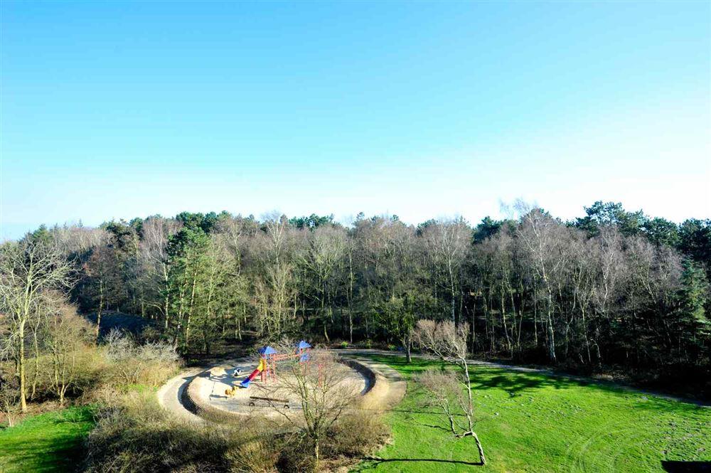 Ausblick und Kinderspielplatz