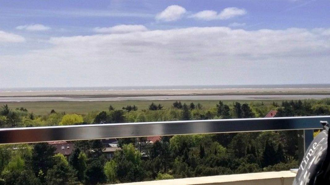 Parkwohnanlage Haus Atlantic, St. Peter-Ording (SPO) - Wohnung 146 (ID 311) - Ausblick vom Balkon