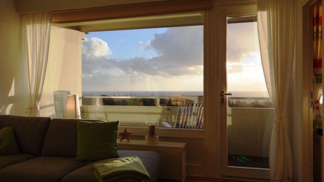 Ausblick aus dem Wohnzimmer