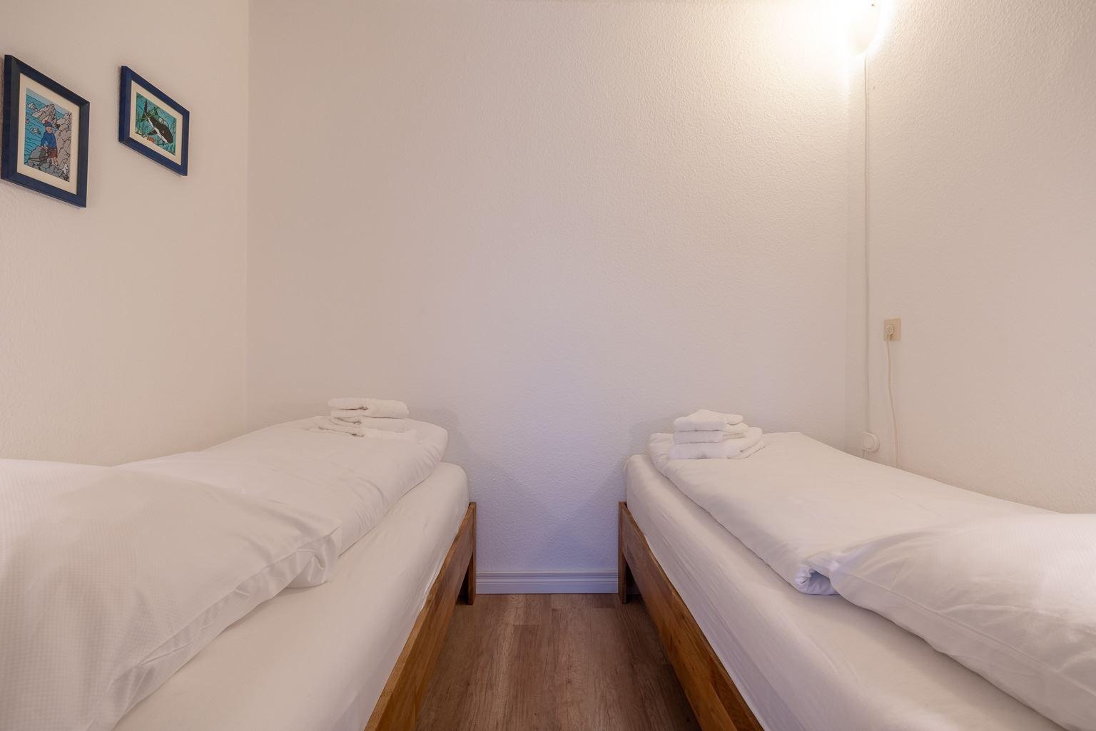 """1. Schlafzimmer - St Peter Ording Bad, Haus Atlantic, Wohnung 17 """"Regina"""""""