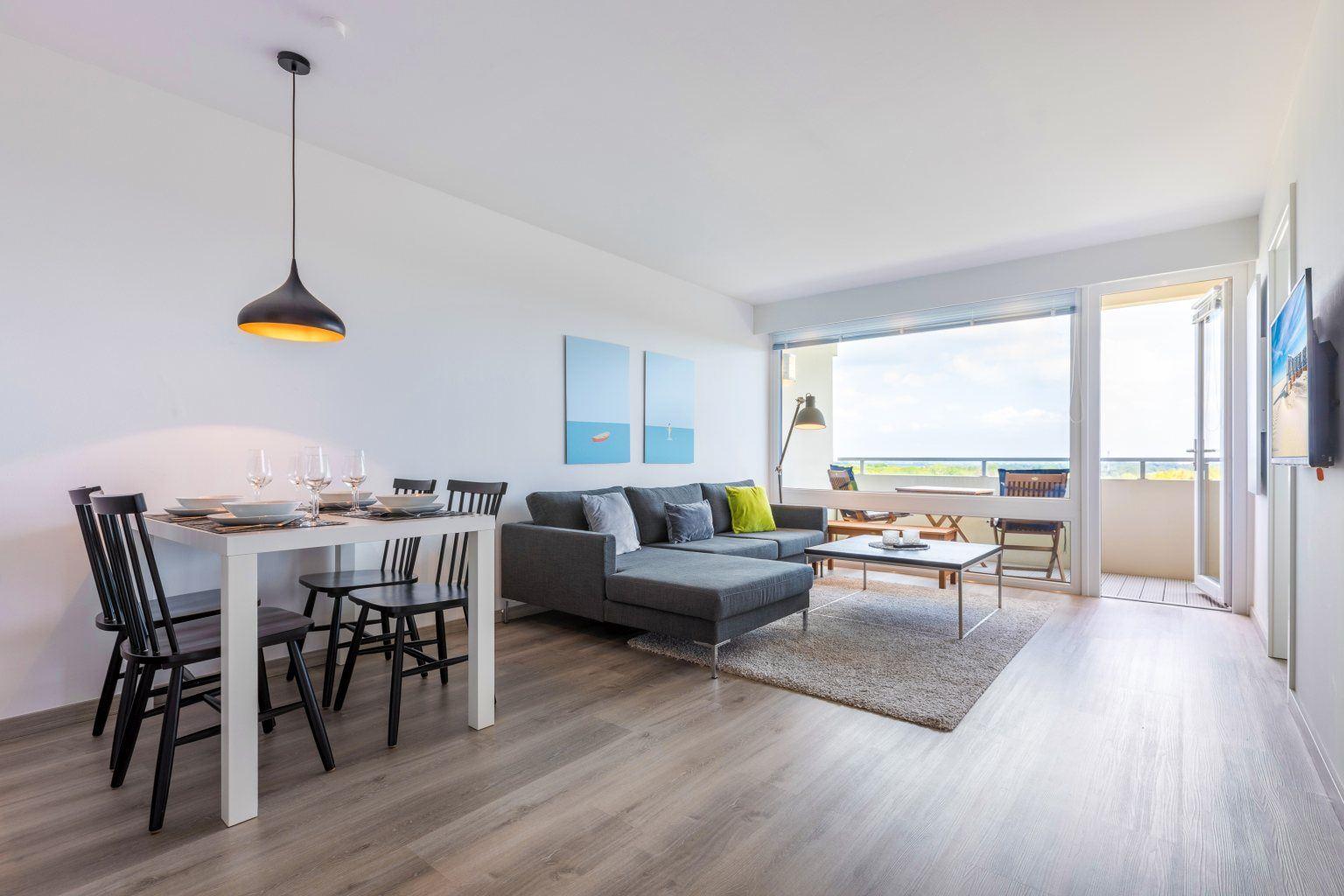 "Wohnzimmer - St Peter Ording Bad, Haus Atlantic, Wohnung 133 ""Nordmeer"""