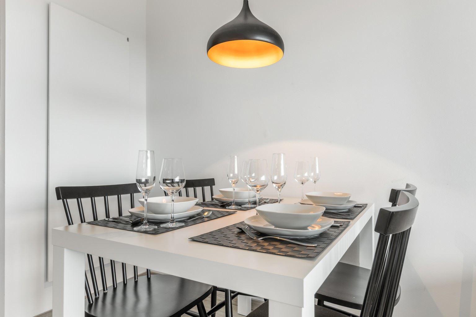 "Essbereich - St Peter Ording Bad, Haus Atlantic, Wohnung 133 ""Nordmeer"""