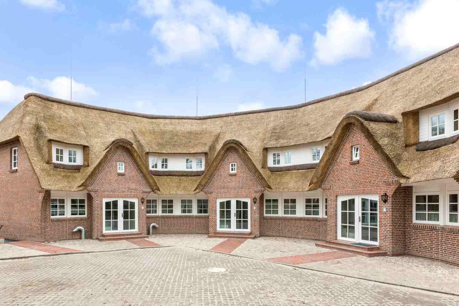 Aussenansicht Haus Storchennest, Heedweg 10, St. Peter-Dorf