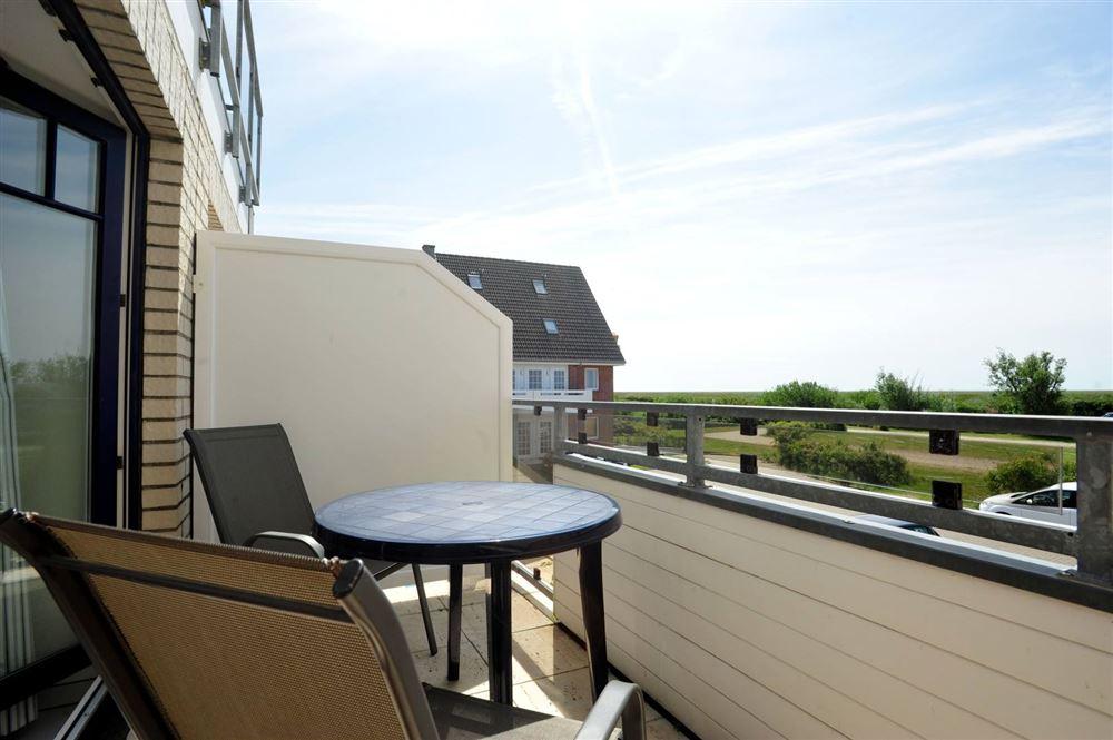 """Zum Böhler Strand 10, St. Peter-Böhl, Wohnung 6 """"Schröder"""" (ID 045) - Balkon"""