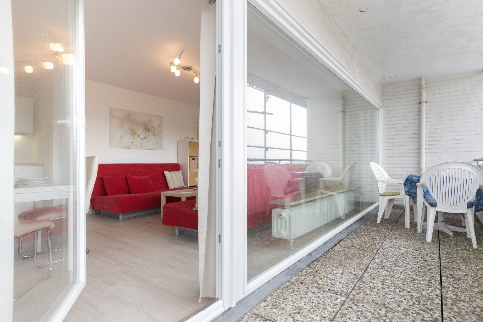 Balkon - Haus Luv und Lee, Wohnung 28, Im Bad 18, St. Peter-Bad