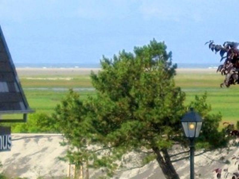 Ausblick vom Balkon Haus Meer und Sonne, SPO