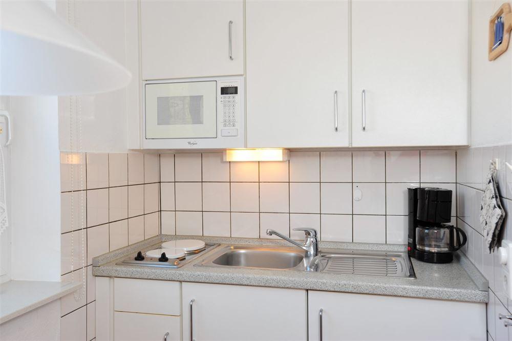 """Küche - St Peter Ording Boehl, Haus Kuhsteig 15, Wohnung EG """"Sigrids Klause"""""""