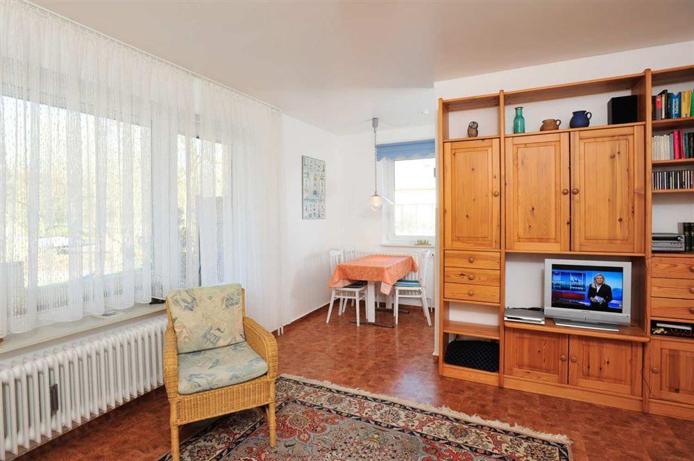 """Wohnzimmer - St Peter Ording Boehl, Haus Kuhsteig 15, Wohnung EG """"Sigrids Klause"""""""