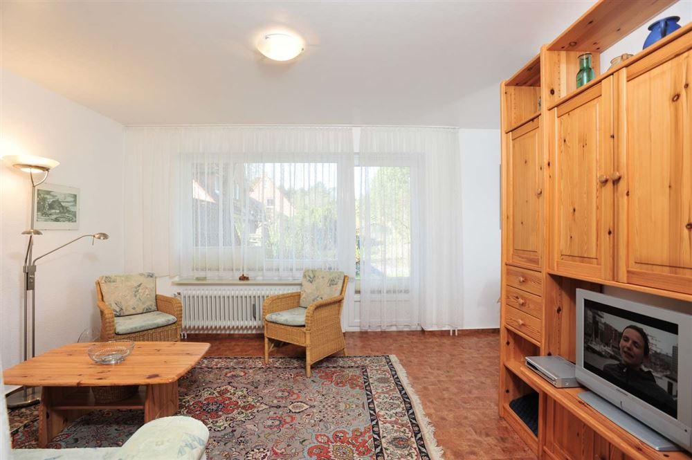 """Ferienwohnung Haus Kuhsteig 15 Wohnung EG """"Sigrids Klause"""", St. Peter-Böhl, Region St. Peter-Ording - für bis zu 3 Personen."""