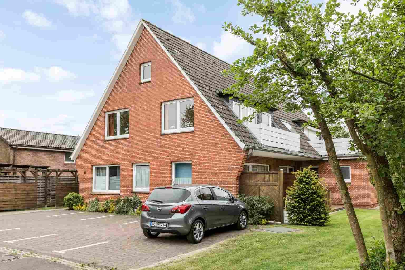 Aussenansicht - St Peter Ording Boehl, Haus Kuhsteig 15, Wohnung EG Lebender