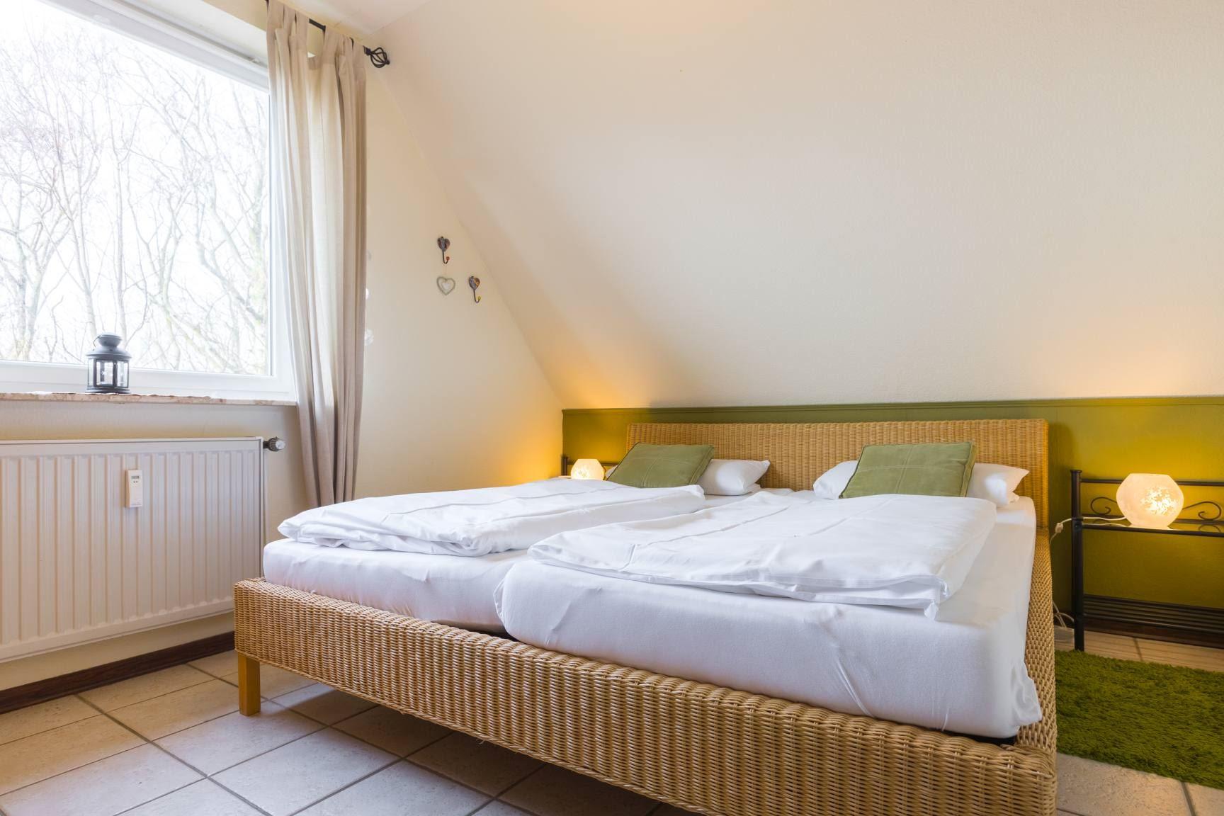 1. Schlafzimmer - St Peter Ording Dorf, Haus Wogemann, Wohnung 11