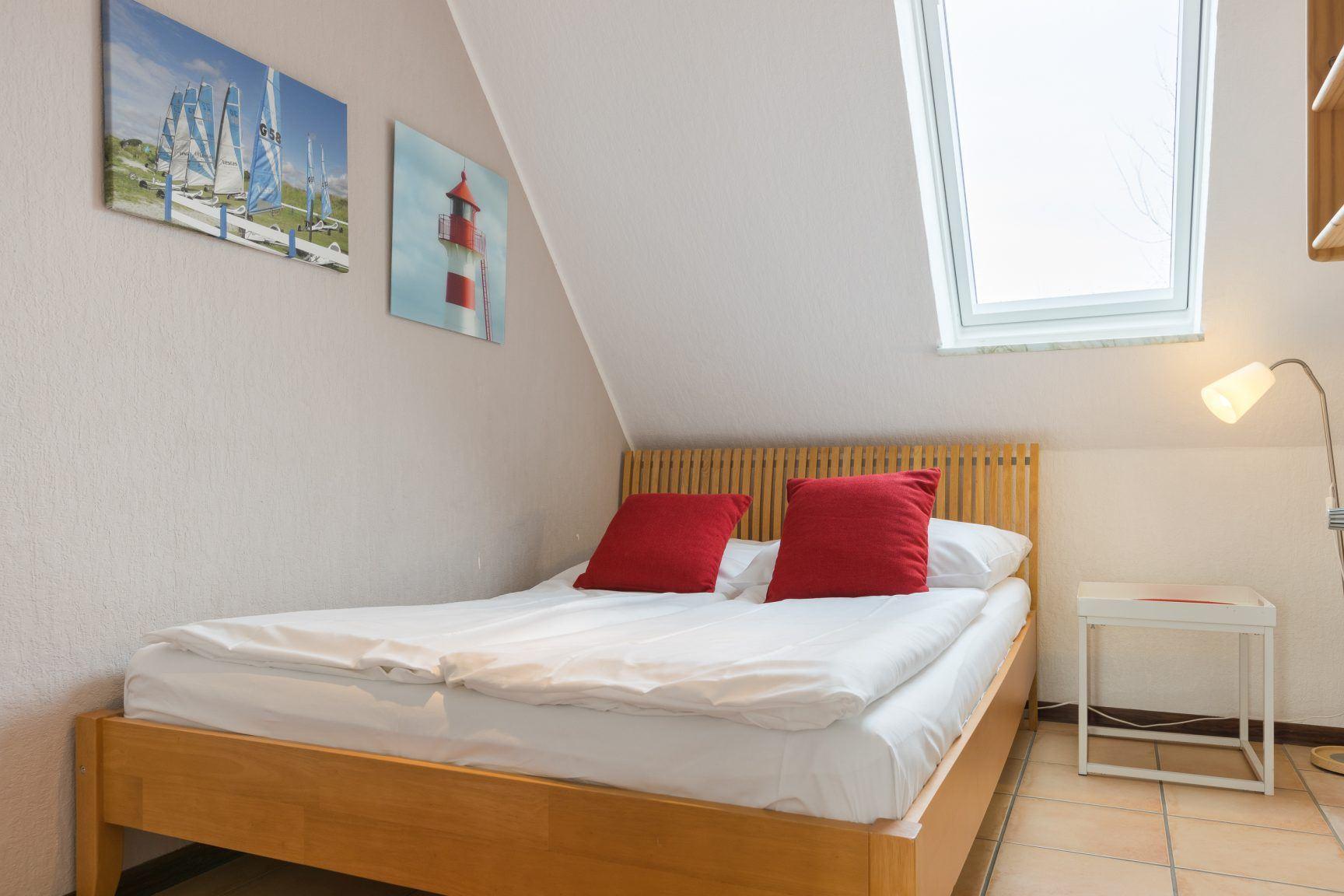 2. Schlafzimmer - St Peter Ording Dorf, Haus Wogemann, Wohnung 11