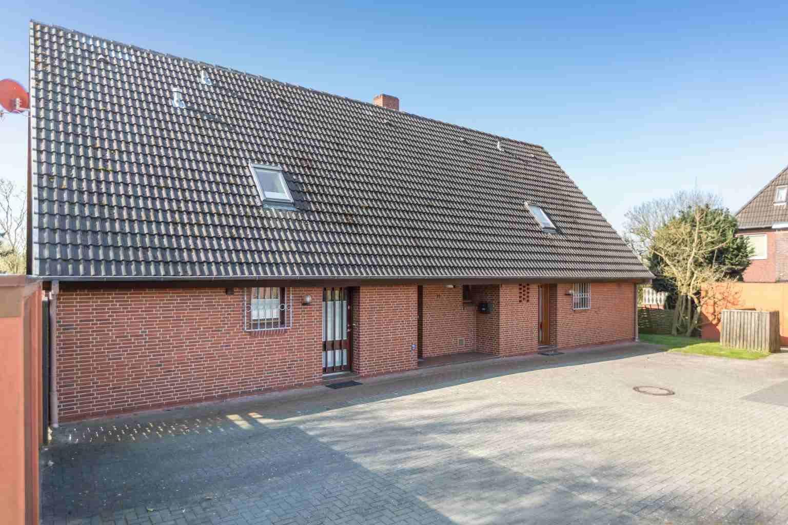 """Aussenansicht - St Peter Ording Dorf, Haus Boevergeest 11, Wohnung """"Kleine Moewe"""""""