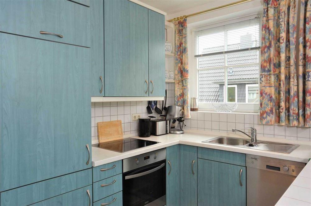 "Küche - St Peter Ording Dorf, Haus Feldstrasse 12, Wohnung ""Seebaer"""