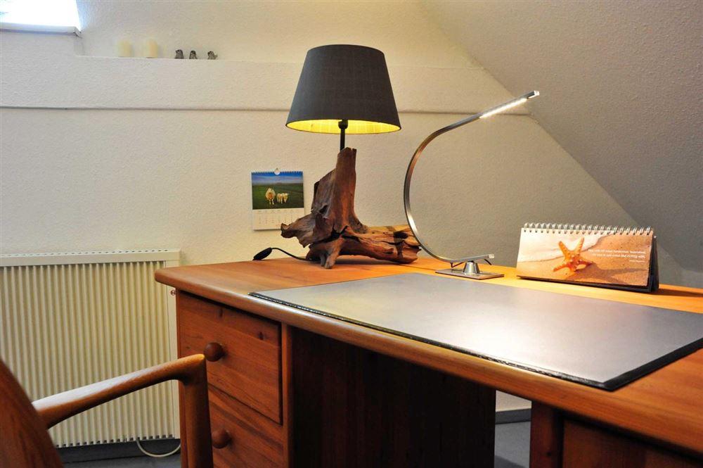 """1. Schlafzimmer - St Peter Ording Dorf, Haus Feldstrasse 12, Wohnung """"Seebaer"""""""