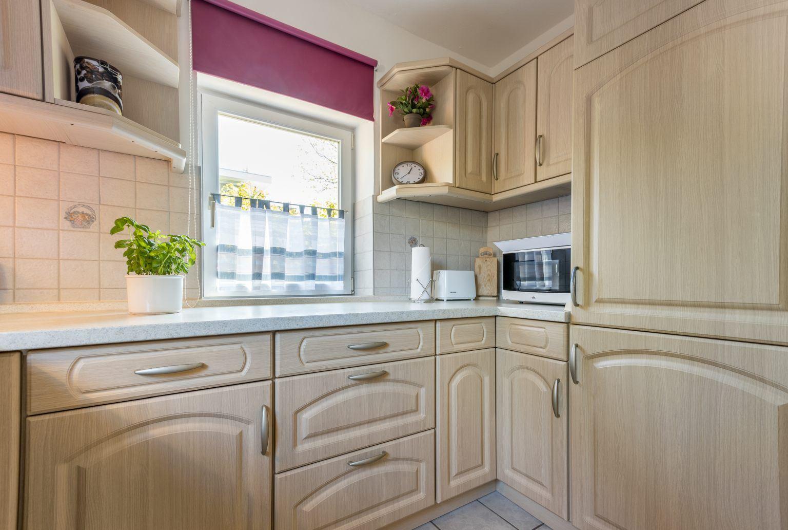 Küche - Haus Sturmmoewe, Wohnung 4, Badallee 27-27a, St. Peter-Dorf