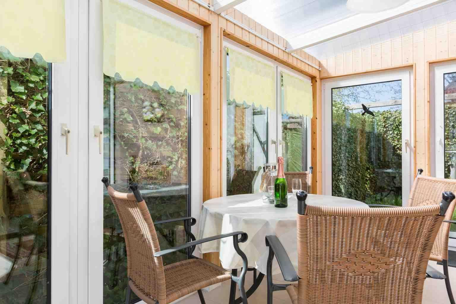 Wintergarten - Haus Sturmmoewe, Wohnung 1, Badallee 27-27a, St. Peter-Dorf