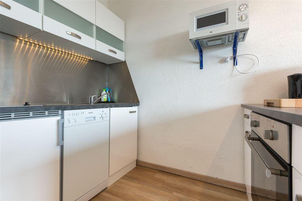 """Küche - Wohnung 45 """"Markwardt"""", 1-Zimmer-Ferienwohnung für bis zu 2 Personen, Fritz-Wischer-Straße 7, St. Peter-Bad, SPO"""