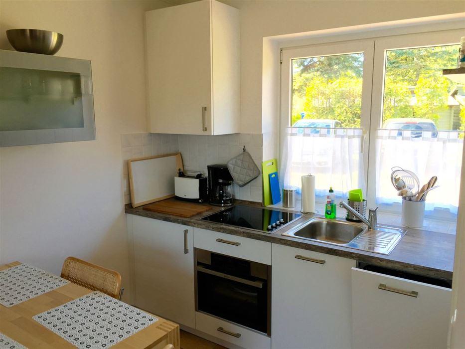 Küche - St Peter Ording Boehl, Haus Heckenrose, Hausteil 8