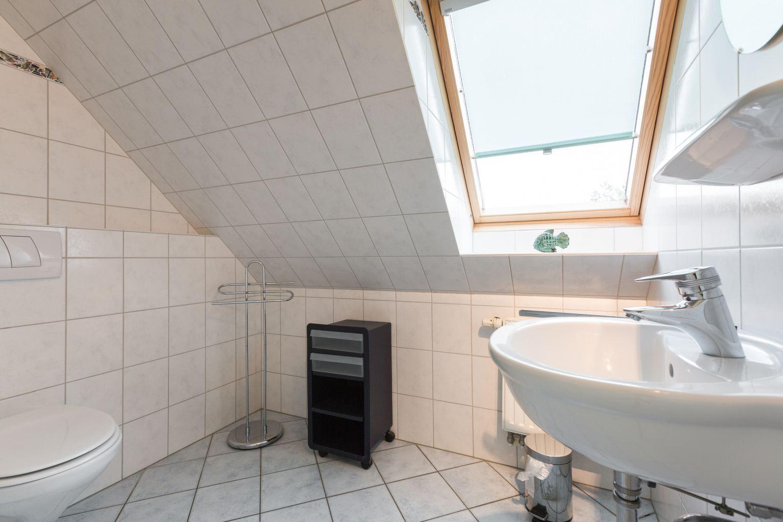 2. Badezimmer - St Peter Ording Bad, Haus Am Kurwald II, Wohnung 7