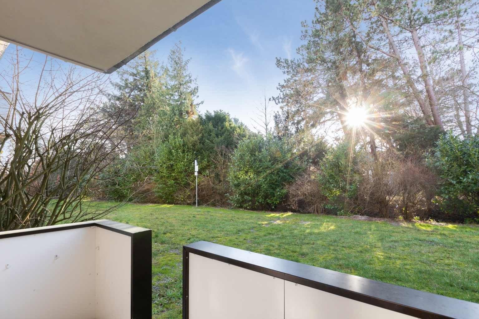 Gartenterrasse - St Peter Ording Dorf, Haus Sandkamp 4, Wohnung 13