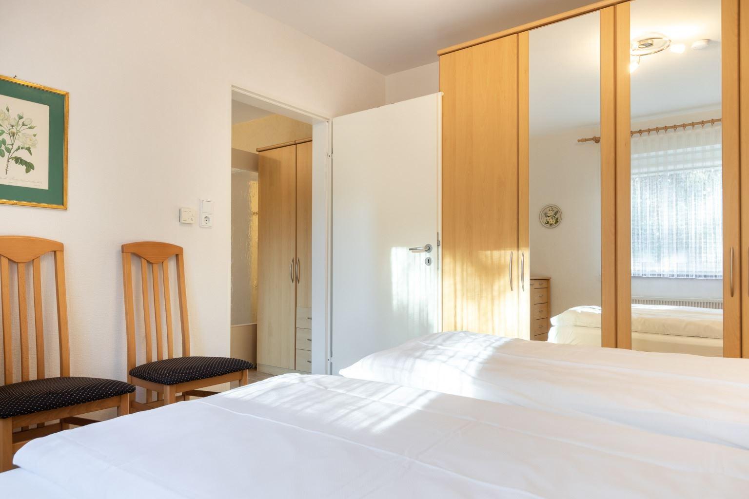 Schlafzimmer - St Peter Ording Dorf, Haus Sandkamp 4, Wohnung 13