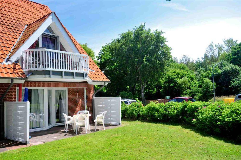 Gartenterrasse - Haus Sommerdeich, Wohnung 3A, Westmarken 37a+b, St. Peter-Bad