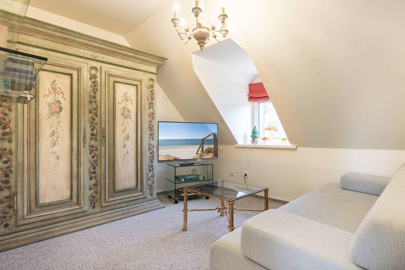 """2. Schlafzimmer - St Peter Ording Bad, Haus Sommerdeich, Wohnung 4B """"Westmarkenpalais"""""""
