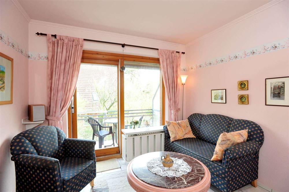 """Wohnzimmer - St Peter Ording Bad, Haus Alter Badweg 3, Wohnung """"Brigitte"""""""
