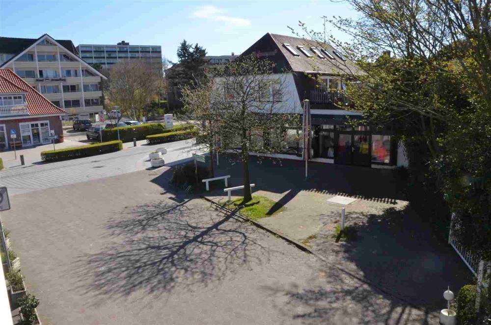 """Ausblick vom Balkon - Haus """"Residenz im Bad"""", Wohnung-24, Im Bad 22-24, St. Peter-Bad"""