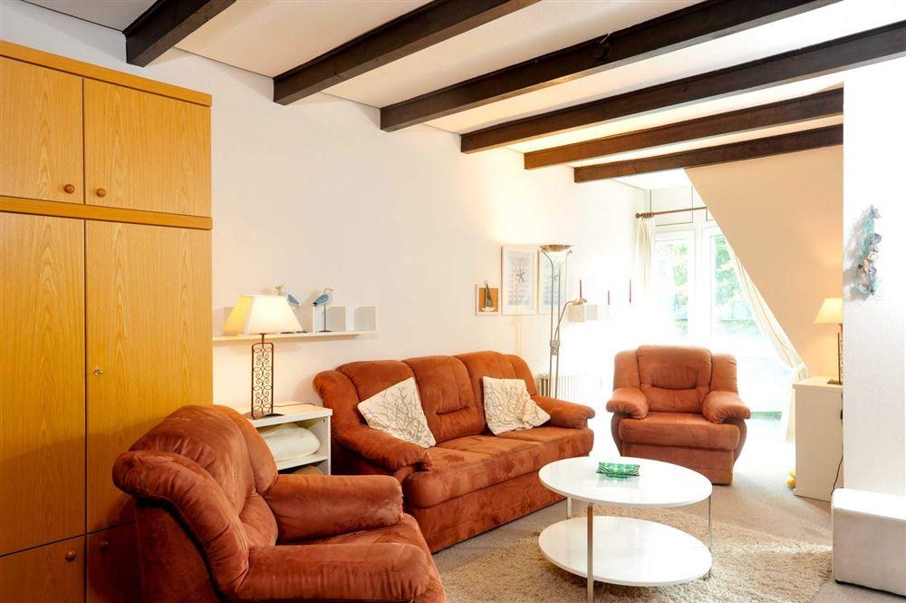 """Wohnzimmer - Haus """"Residenz im Bad"""", Wohnung-24, Im Bad 22-24, St. Peter-Bad"""