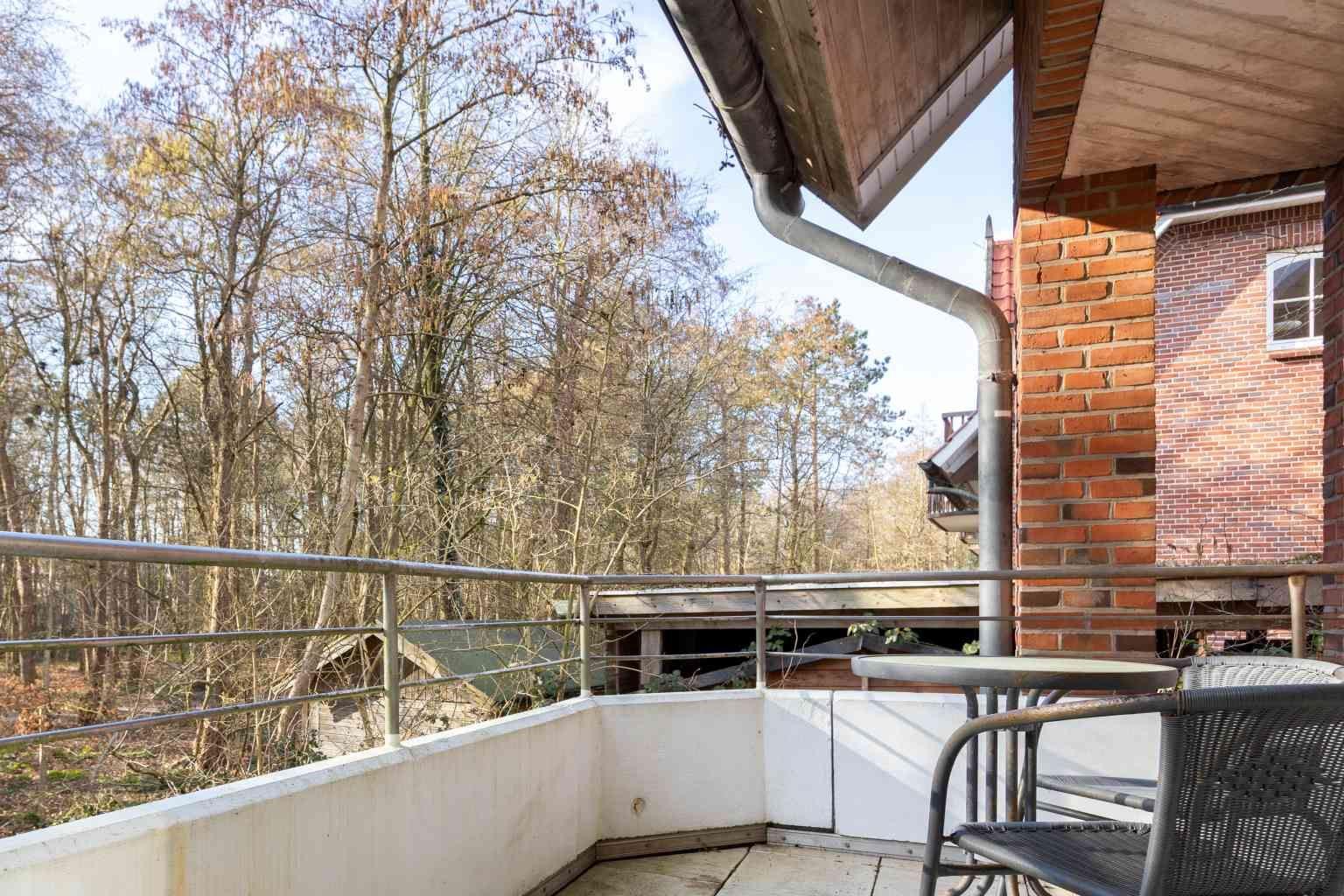 "Balkon - Haus ""im Bad 60a"", Wohnung 1,Im Bad 60a, St. Peter-Bad"