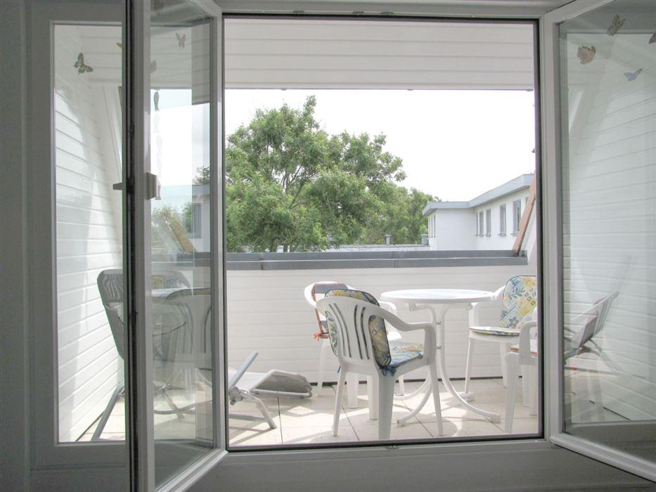 Balkon - Haus Wattwurm, Wohnung 6, 2-Zimmer-Ferienwohnung, Waldstraße 17a, St. Peter-Ording